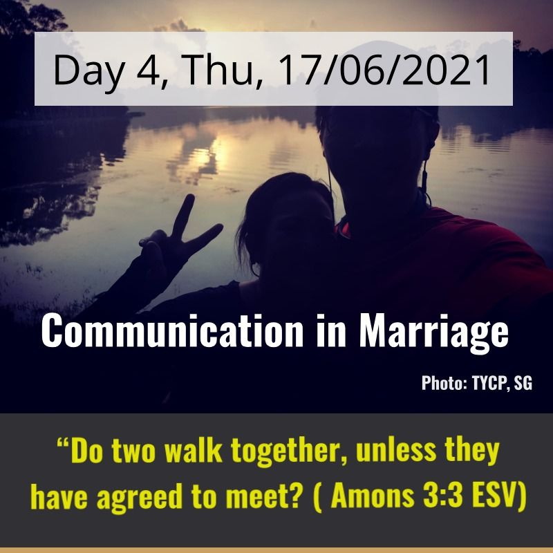 communication in marriage - day 4