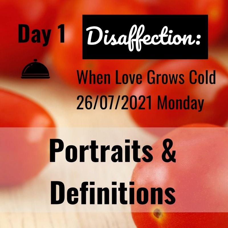 disaffection day 1