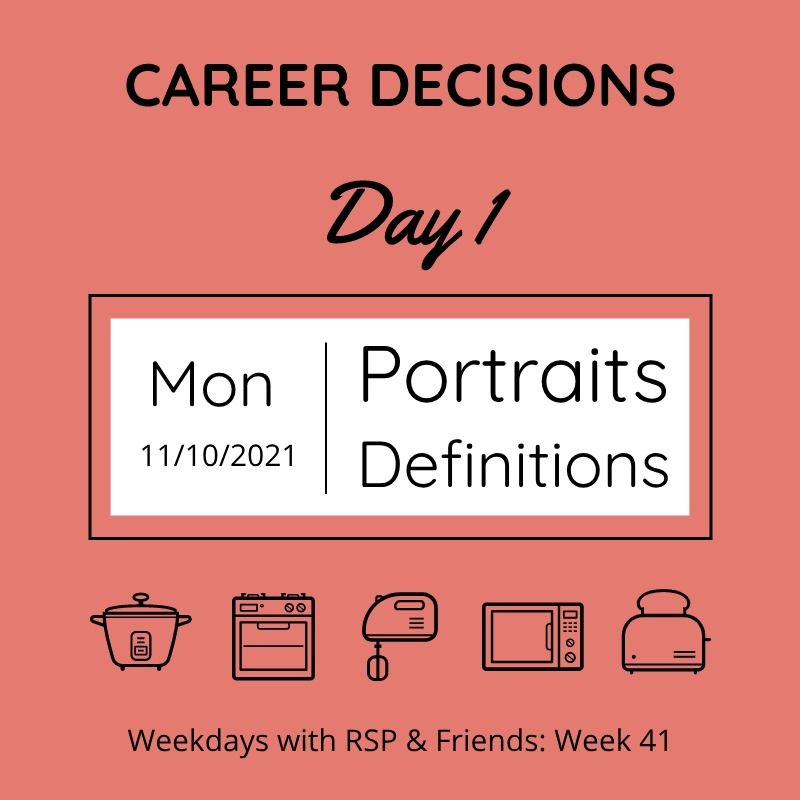 career decisions - day 1