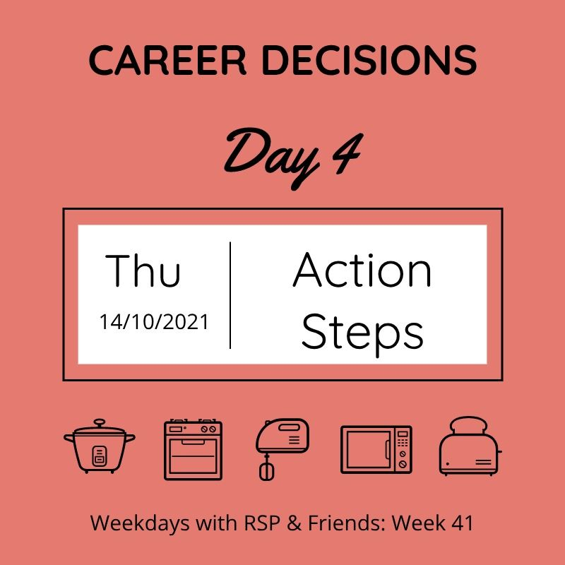 career decisions - day 4